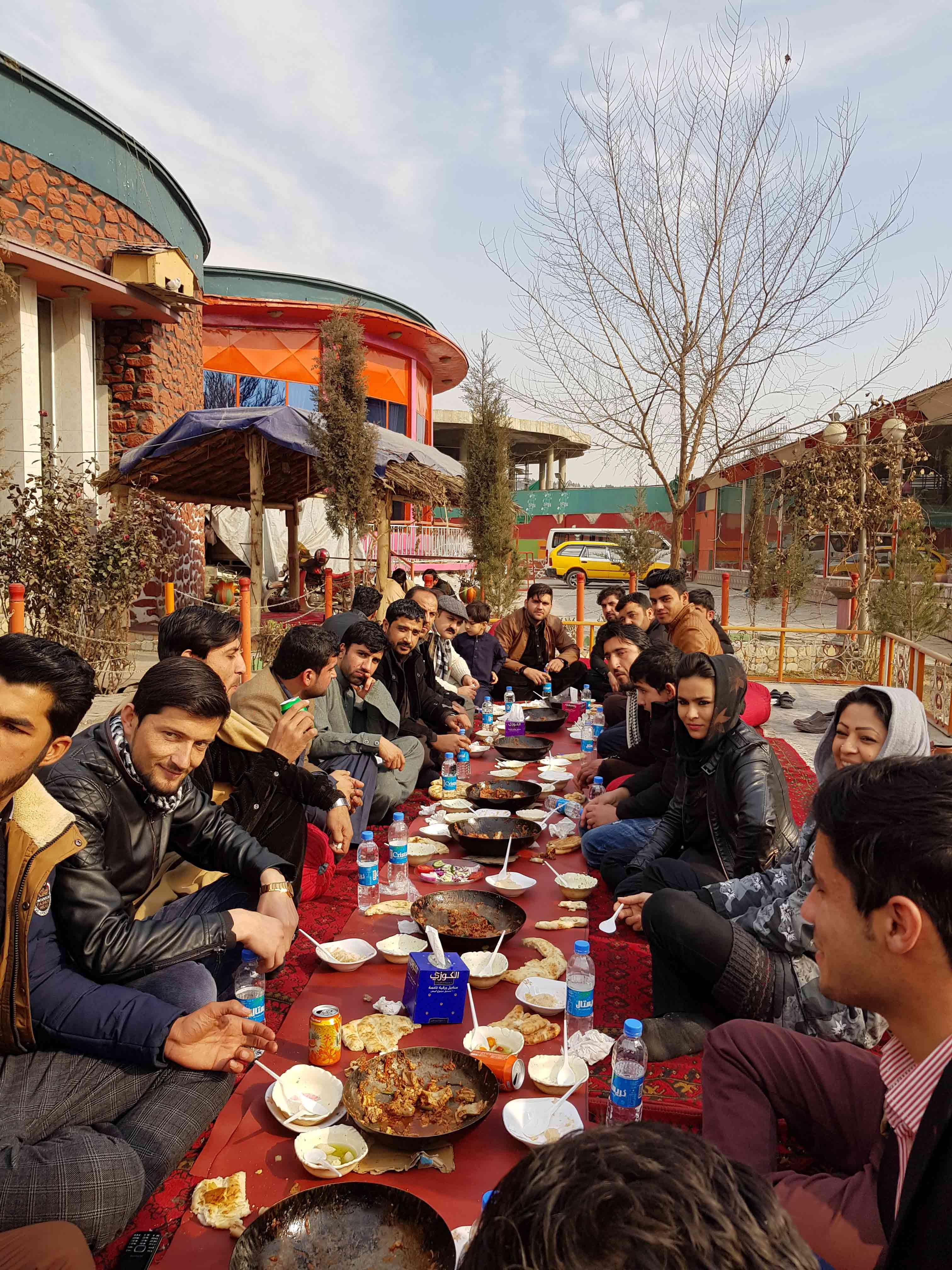 informal staff meetup